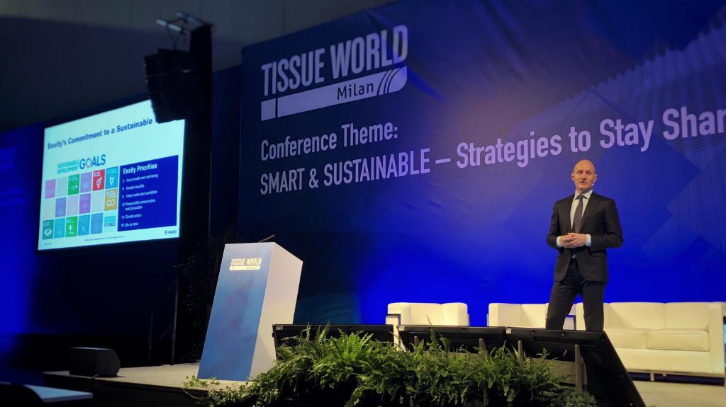 Magnus Groth, Presidente e CEO di Essity al Tissue World 2019 per parlare di sostenibilità! image