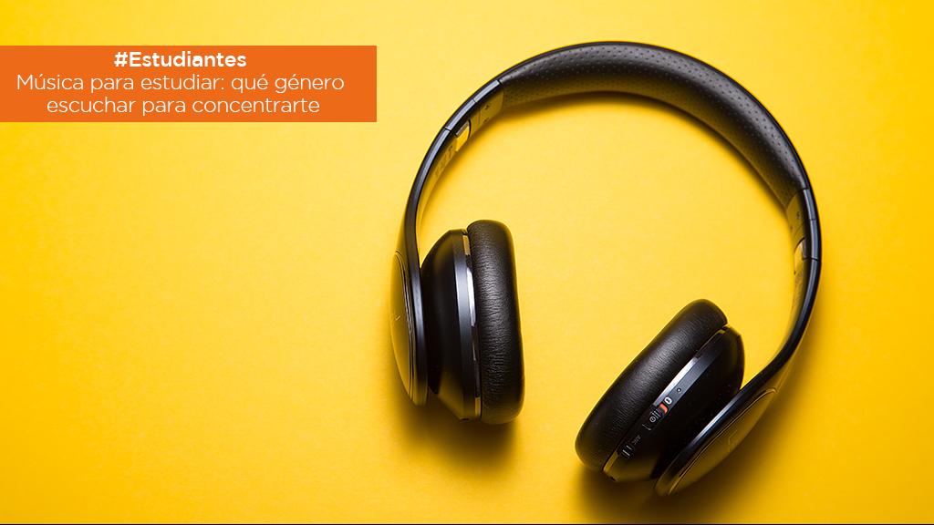#Estudiantes | Música para estudiar: qué género escuchar para concentrarte image