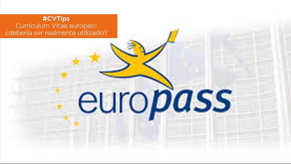 #CVTips | Currículum Vitae europeo: ¿debería ser realmente utilizado? image