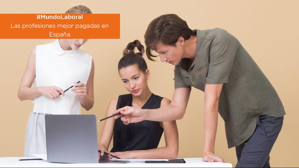 #MundoLaboral | Las profesiones mejor pagadas en España image
