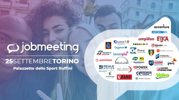 Job Meeting Torino, una giornata di assunzioni per migliaia di giovani image