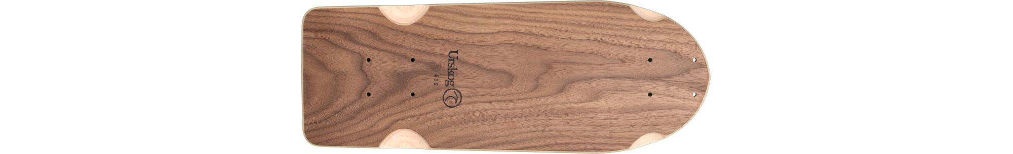 Frö, deck only in walnut