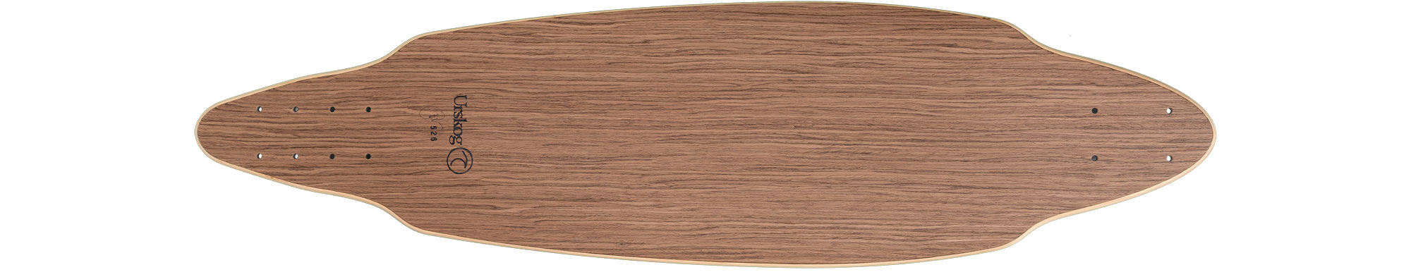 Kvist, deck only in walnut
