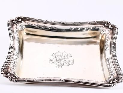 3 delige zilveren schalen set