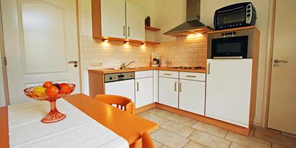 Vakantieboerderij nederland - Keuken m ilot centrale ...