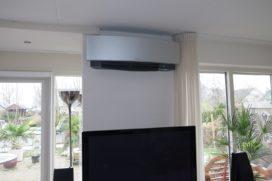 Airconditioning houdt huis ook bij winterweer lekker warm