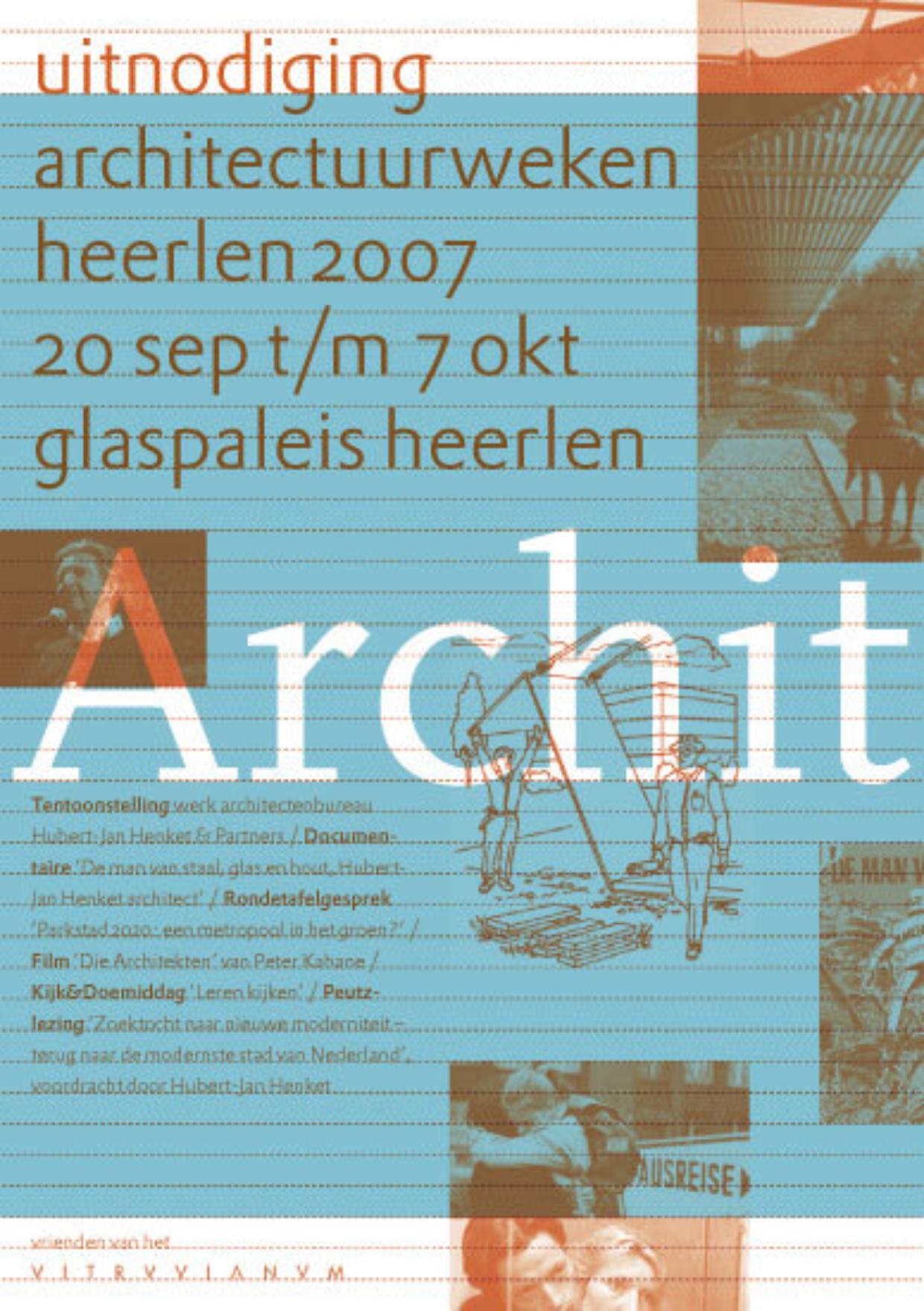 Flyer Architectuurweken Heerlen