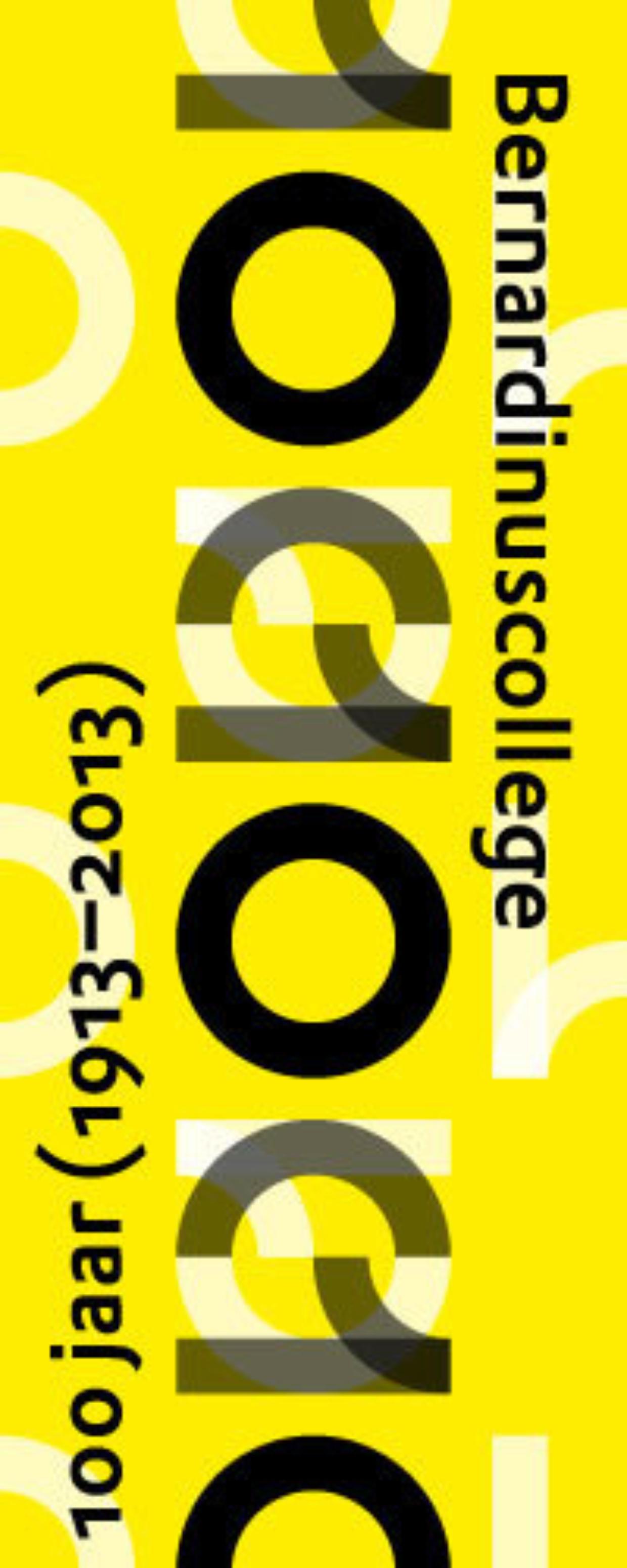 Logo 100 jaar Bernardinuscollege