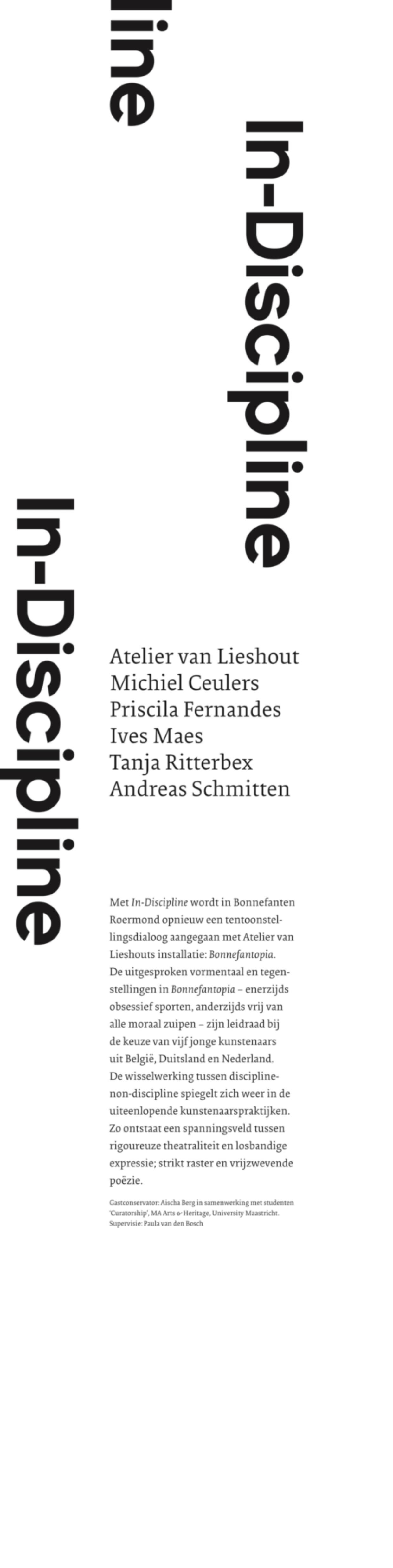 Banner In-Discipline