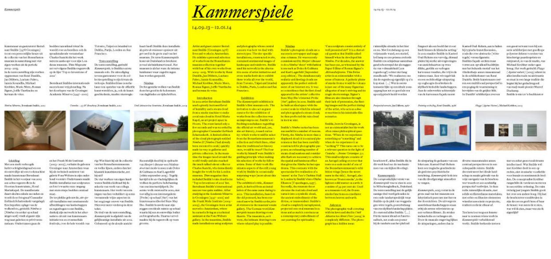 Vouwblad Kammerspiele