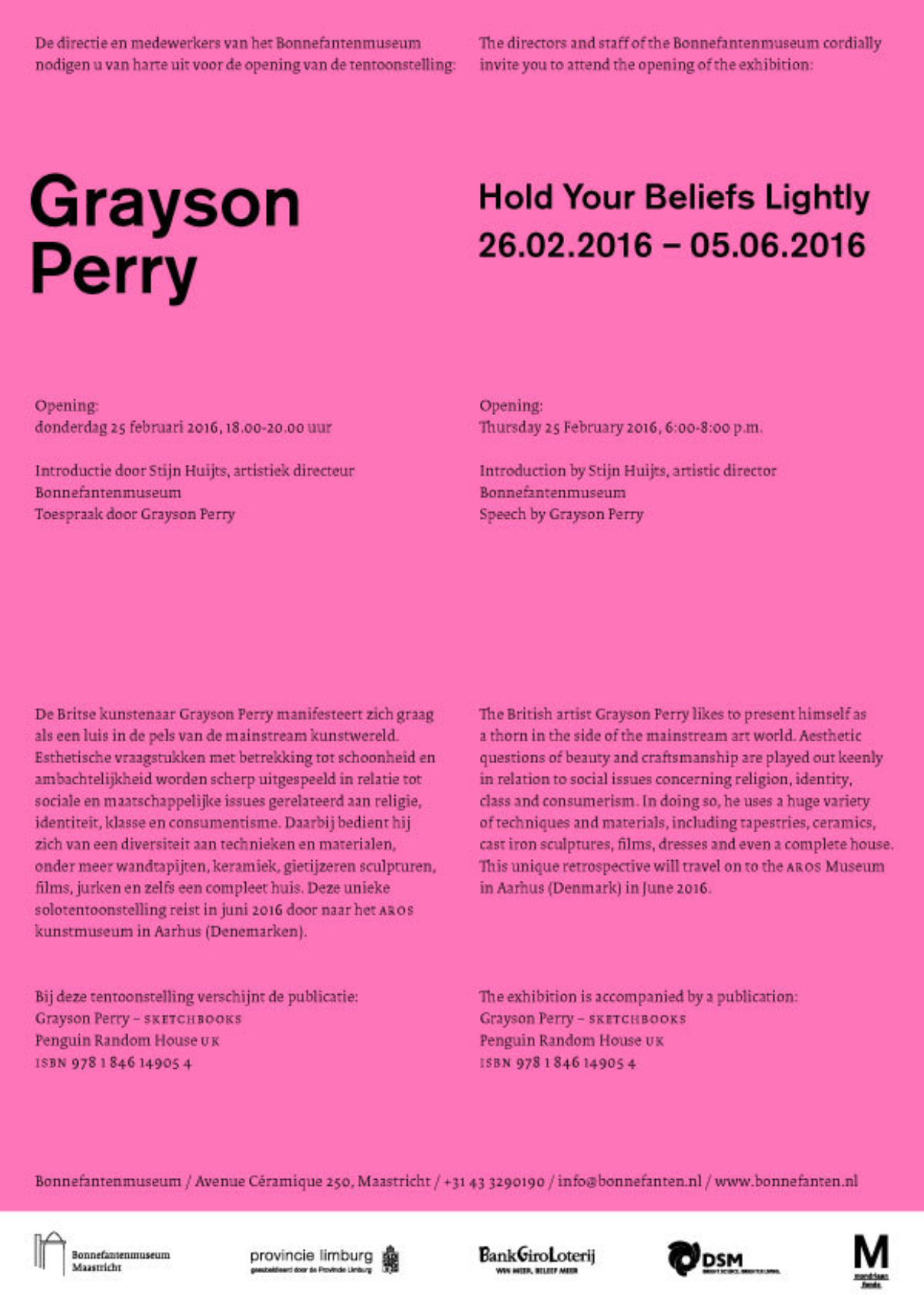 Affiche Grayson Perry
