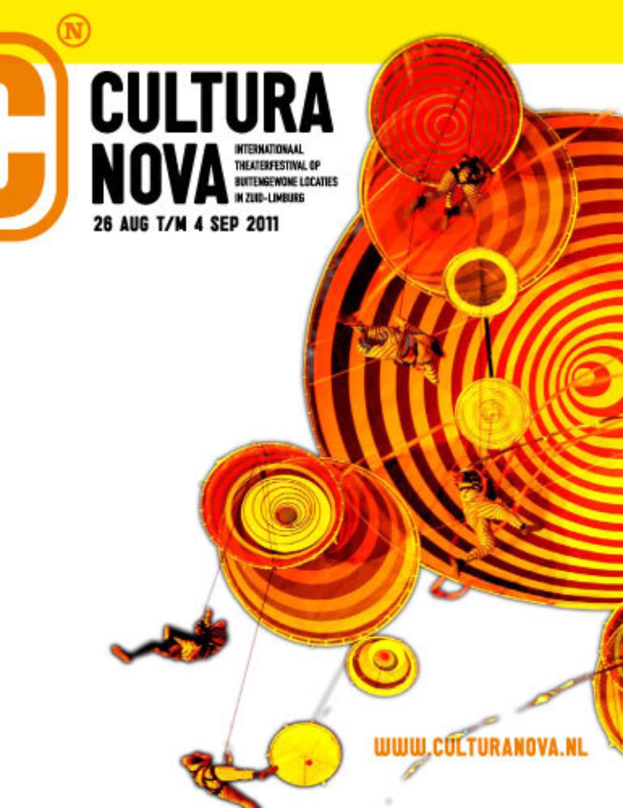 Brochure Cultura Nova Zomerfestival