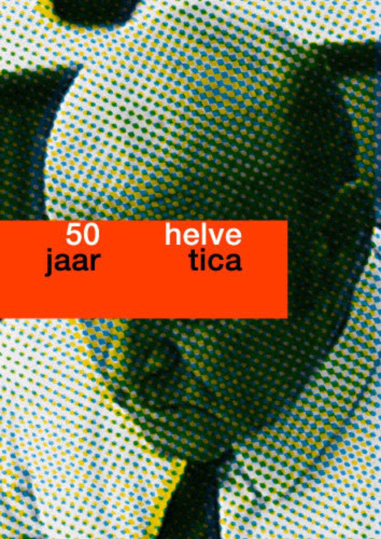 Boek 50 Jaar Helvetica