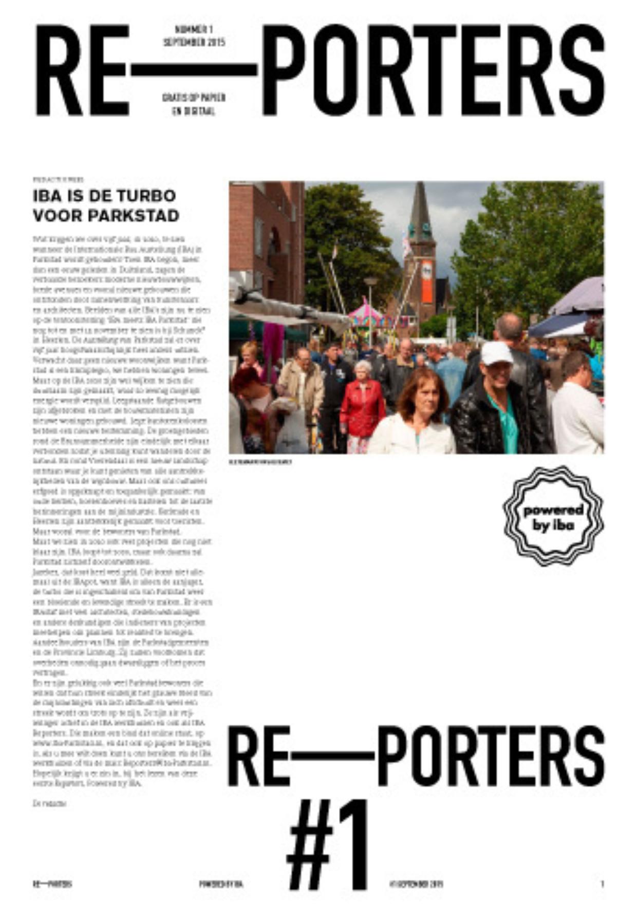 Krant Re–porters #1