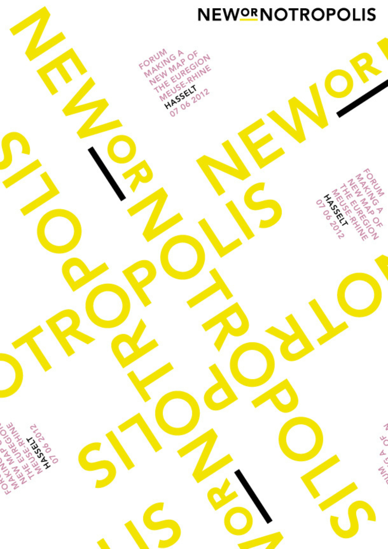 Affiches NEWorNOtropolis