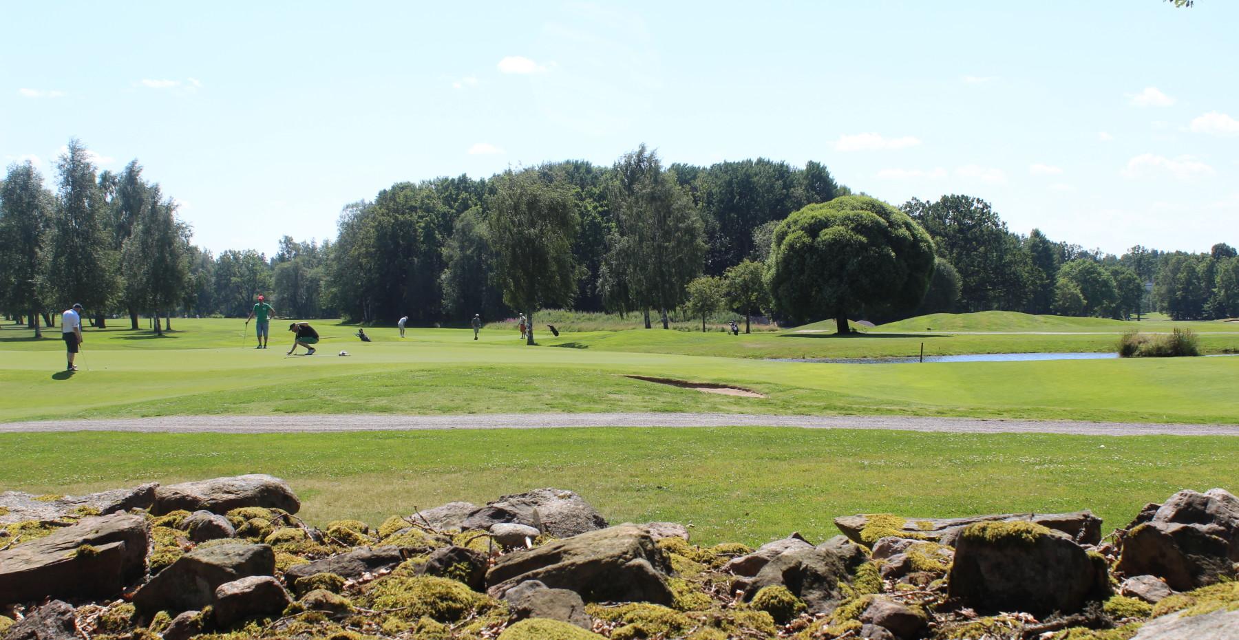 Spela golf i Växjö