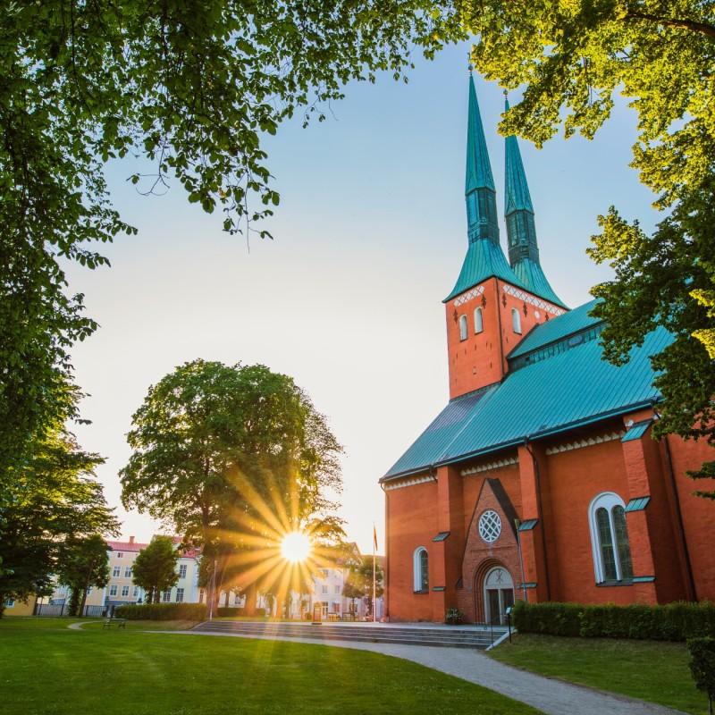 Växjö domkyrka en av de mest instagrammade turistattraktionerna