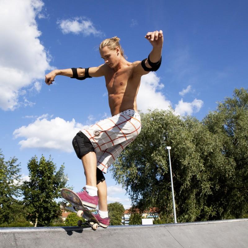 Skate och parkourpark