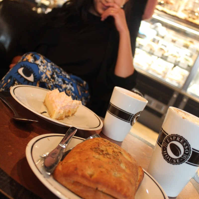 Nypremiär för Espresso House på köpcentret Grand Samarkand