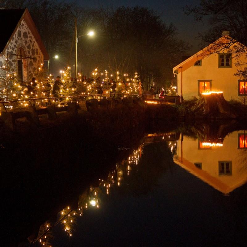 Jul på Huseby