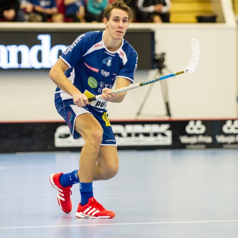 Vipers Johan Roos uttagen till landslaget