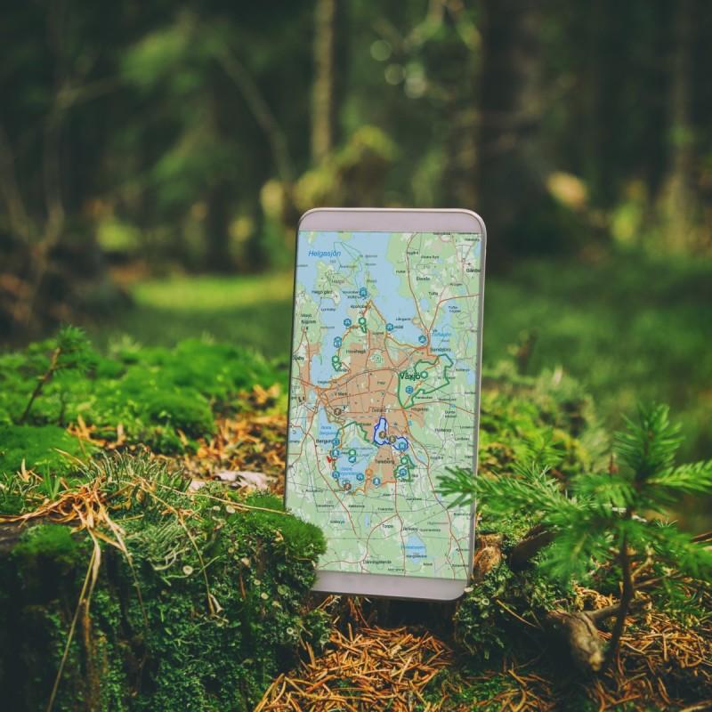 Växjö lanserar Naturkartan