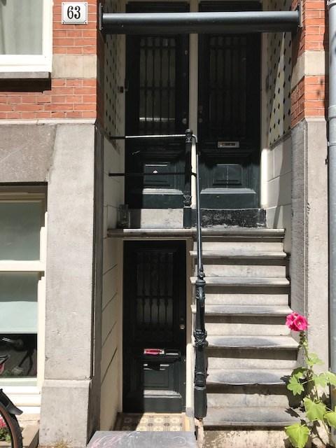 Tweede Weteringdwarsstraat 63, Amsterdam