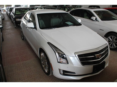 used cadillac cts white 2015 for sale in riyadh for 65 000 sr motory saudi arabia. Black Bedroom Furniture Sets. Home Design Ideas
