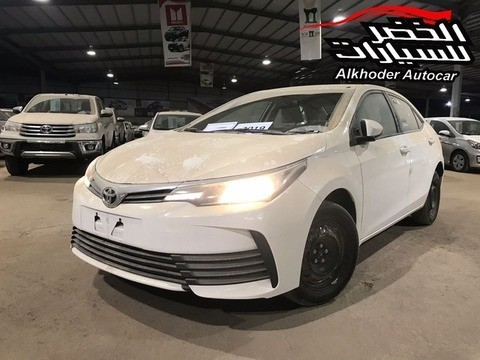 New Toyota Corolla White 2019 For Sale In Al Qassim For 58 500 Sr