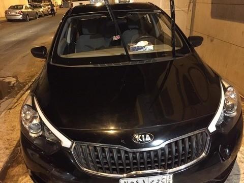 Used Kia Cerato Black 2016 For Sale In Jeddah For Free Lease