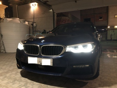 Used Bmw 5 Series Blue 2017 For Sale In Dammam For 220000 Sr