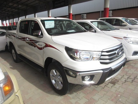 Toyota Hilux 2017 >> New Toyota Hilux White 2017 For Sale In Dammam For 91 000 Sr Motory Saudi Arabia