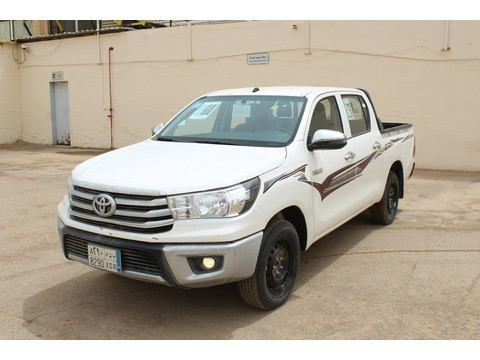 Used Toyota Hilux White 2018 For Sale In Riyadh For 86,835 SR   Motory  Saudi Arabia