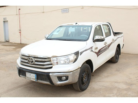 Used Toyota Hilux White 2018 For Sale In Riyadh For 86,835 SR | Motory  Saudi Arabia