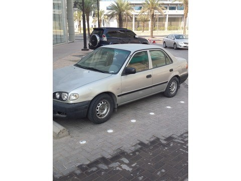 Used Toyota Corolla Grey 2000 For Sale In Riyadh For 4,000