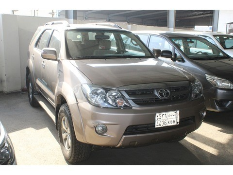Used Toyota Fortuner Brown 2008 For Sale In Jeddah For 42,000 SR