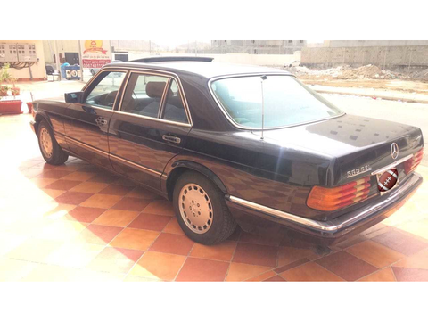 Used Mercedes SEL Blue 1990 For Sale In Jeddah For HIGHEST