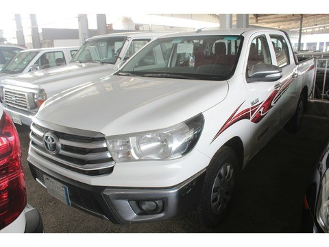 Used Toyota Hilux White 2016 For Sale In Jeddah For