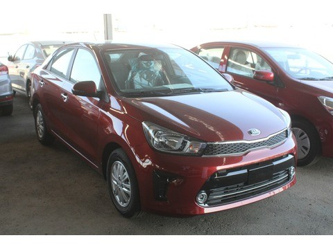 new kia pegas brown 2020 for sale in jeddah for 43,550 sr
