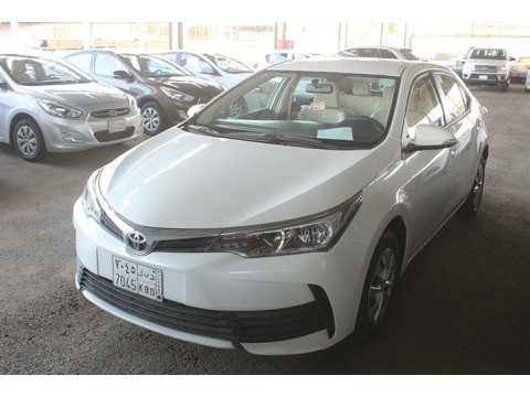 Used Toyota Corolla White 2017 For Sale In Jeddah For 45 000 Sr Motory Saudi Arabia