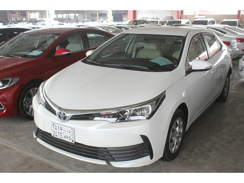 Used Toyota Corolla White 2018 For Sale In Jeddah For 58 000 Sr Motory Saudi Arabia