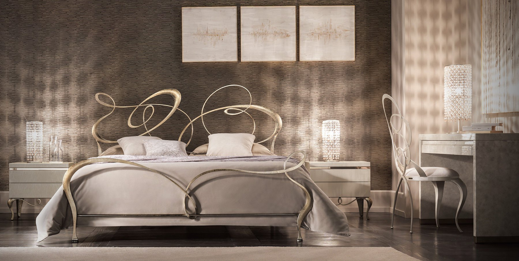 Italian designer bedroom sets veracchi mobili for Italian design mobili