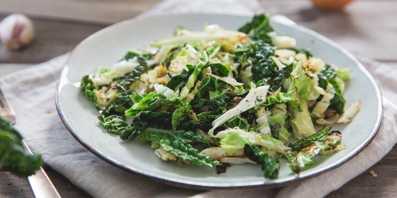 recept van groene kool