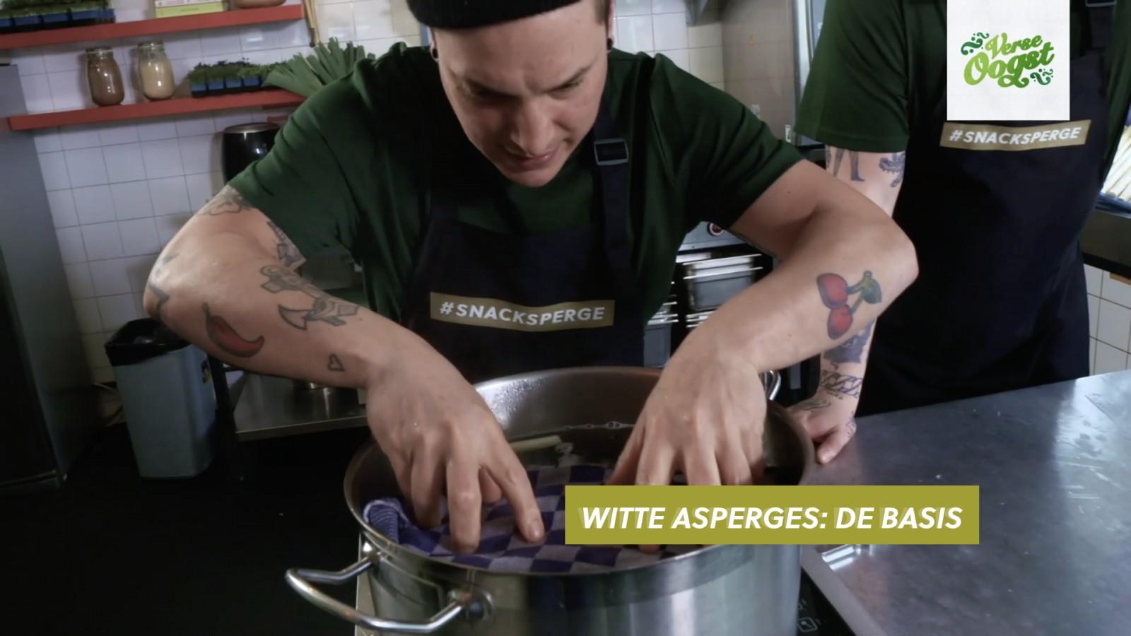 Job & Perry leggen uit: zo kook je asperges als een pro