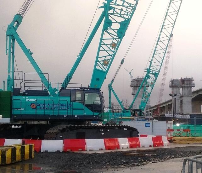 Five more Kobelcos for Q Crane   Vertikal net