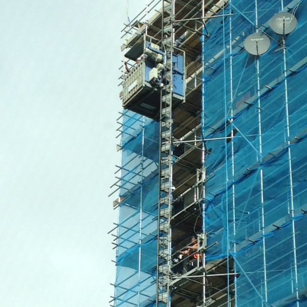 Rapid hoists   Vertikal net