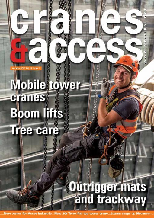 Cranes & Access, October 2017, Vol  19, Issue 7 | Vertikal net