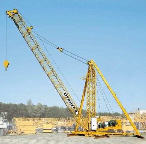 New tower crane derrick from Liebherr   Vertikal net