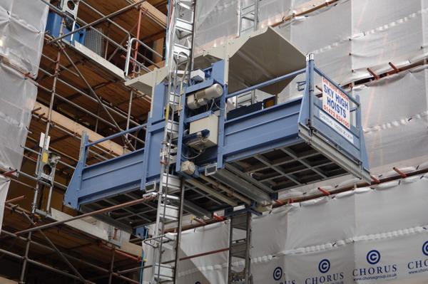 Five metre hoist platform | Vertikal net