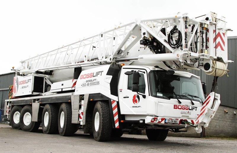 New Irish crane company   Vertikal net
